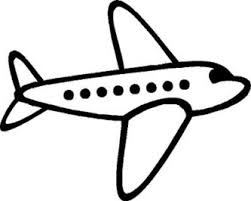 333x266 airplane clipart black and white – Cliparts