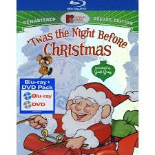 Twas The Night Before Halloween Book by Twas The Night Before Christmas Blu Ray Dvd Digital Copy