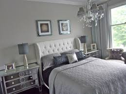 Silver Blue Bedroom Design Ideas