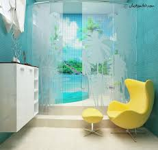 Teal Color Bathroom Decor accessories for bathroom design and decoration using relax soak