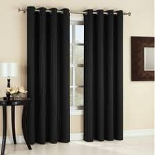 Striped Curtain Panels 96 by Aurora Home Extra Wide Thermal 96 Inch Blackout Curtain Panel