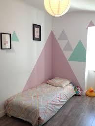 peinture decoration chambre fille comment habiller un angle dans une pièce deco mur mur et chambres