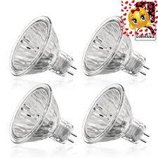 luxrite lr20250 4 pack 50wmr16 fl exn 50 watt halogen pin base