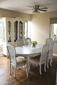 Annie Sloan Dining Room Table In Paris Grey And Duck Egg Hutch Old Ochre Simple Clean Cute