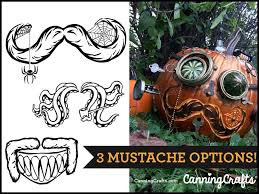 Pumpkin Carving Outlines Printable by Free Printable Halloween Steam Pumpkin Carving Template
