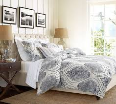 Pottery Barn Raleigh Bed by Pretty Pottery Barn Headboards On Chesterfield Upholstered Bed