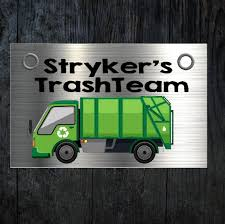 100 Names For A Truck Garbage Custom Birthday Sign Birthday Name Sign Etsy