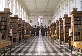 Wren Library Trinity College Cambridge