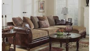 Buchannan Faux Leather Corner Sectional Sofa Chestnut by Exceptional Design Of Red Leather Sofa Houston At Big Sofa