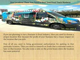 100 Starting Food Truck Business Few Locations There You Need To Start Your Food Truck
