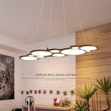 Modern LED Chandelier Dining Room Lighting Fixtures Living Hanging Lights Home Illumination Restaurant Suspended Lamps