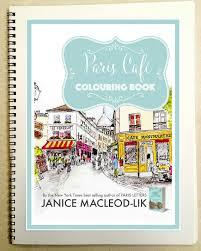 New Paris Cafe Colouring Book