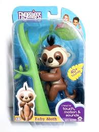 Fingerlings Sloth Walmart Interactive Baby Brown Exclusive New Pre Order