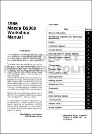 1986 Mazda B2000 Repair Manual - Schematics Wiring Diagrams • Free Truck Repair Manuals Data Wiring Diagrams 2005 Chevy Manual Online A Good Owner Example Ford User Guide 1988 Toyota The Best Way To Go Is A Factory Detroit Iron Dcdf107 571967 Parts On Cd Haynes Dodge Spirit Plymouth Acclaim 1989 Thru 1995 Chiltons 2007 Hhr Basic Instruction Linde Fork Lift Spare 2014 Download Chilton Asian Service 2010 Simple Books Car Software Mitchell On Demand Heavy Service Hyundai Accent Pdf