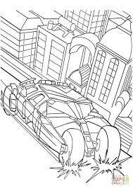 Click The Batmans Car Coloring Pages To View Printable