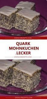 quark mohnkuchen lecker quark mohnkuchen lecker
