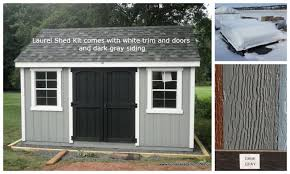 8x12 Storage Shed Kit by Currently In Stock Homestead Structures