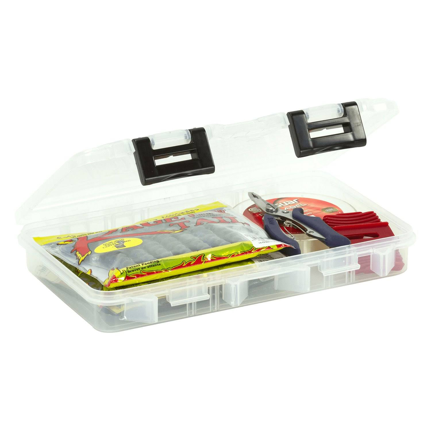 Plano 360710 Prolatch Stowaway Open Compartments - Clear