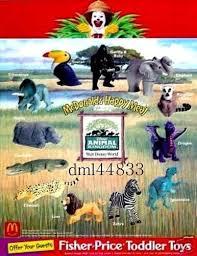 Mcdonalds Halloween Pails Ebay by 1998 Mcdonalds Animal Kingdom Mip Set Lot Of 12 Boys U0026 Girls 3