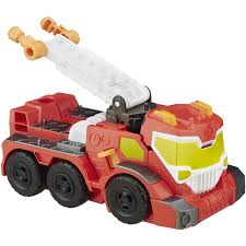 Playskool Heroes Transformers Rescue Bots Night Rescue Heatwave ...