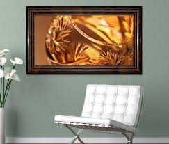 3d wandtattoo weinbrand glas gold wein abstrakt selbstklebend wandbild wohnzimmer wand aufkleber 11l590 wandtattoos und leinwandbilder