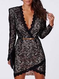 black lace dresses cheap price