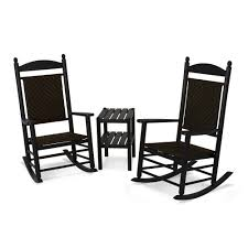 Polywood Jefferson 3-Piece Woven Rocker Set | DFOHome Jefferson Recycled Plastic Wood Patio Rocking Chair By Polywood Outdoor Fniture Store Augusta Savannah And Mahogany 3 Piece Rocker Set 2 Chairs Clip Art Chair 38403397 Transprent Png Polywood Style 3piece The K147fmatw Tigerwood Woven Black With Weave Decor Look Alikes White J147wh Bellacor Metal Mainstays Wrought Iron Old
