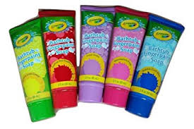 amazon com crayola bathtub finger paint soap 5 pack beauty