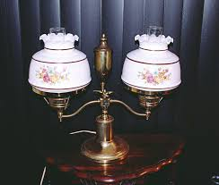 Antique Hurricane Lamp Globes by Double Globe Table Lamp Best Inspiration For Table Lamp
