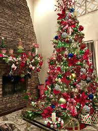 12 Ft Christmas Tree My Red Green Gold Black And White