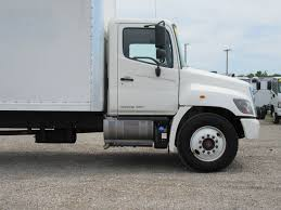 2015 Used HINO 268 (24ft Box Truck With Liftgate) At Industrial ...