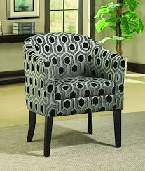 Amazon.com: Charlotte Hexagon Patterned Accent Chair Grey And White ... Decorative Chairs For Bedroom Cuddler Swivel Sofa Chair Home Decor Blue Upholstered Ding Uk Duck Egg Fabric Patterned Mcer41 Doan Diamond Grid Velvet Armchair Whosale Accent Chair Living Room Fniture Living Room Floral Pattern Most Comfortable Shop Modern Bluestone Tone Geometric Accent Club Affordable Amazing Fniture With 50 Beautiful Rooms With Ottoman Coffee Tables 12 Rug Ideas That Will Change Everything Ashley Homestore Canada Plant Pouf Spacious Gold Interior Black