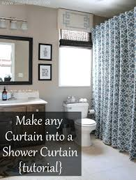 Walmart Canada Bathroom Curtains by If You Cant Find A Shower Curtain To Match Your Bathroom Style