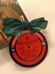 Ebay Christmas Tree Decorations by Vintage Barbra Streisand U0026 Friends Vinyl Record Label Christmas
