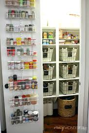 Pantry Door Rack Kitchen Pantry Door Organizer Standing Doors