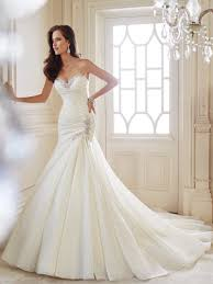 wedding dresses ideas sweetheart mermaid simple elegant wedding