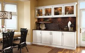 Wood Buffet Hutch Dining Room Furniture Sideboard Tall White On Cabinets