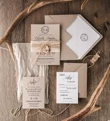 40 Perfect Rustic Wedding Invitations Cheap