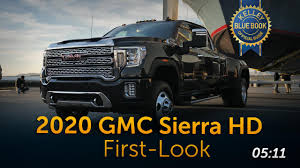 100 Kelley Blue Book Truck 2020 GMC Sierra HD First Look