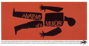 These Movie Posters By Famous Graphic Designer Saul Bass Are Really Good Examples Of The Use Negative And Positive Shapes They Simply Silhouettes