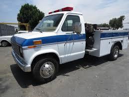 100 Mechanics Truck 1989 FORD E350 Diesel Service Fontana CA