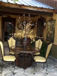 Western And Rustic Elegant Dining Room Furniture Bar Stools In Fort Worth Texas