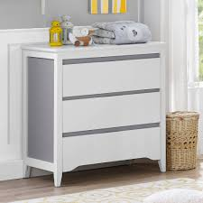 Walmart White Dresser With Mirror by Bevel Painted Nursery Changing Unit In Natural Oak With Baby
