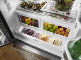 Counter Depth Refrigerator Width 30 by Kitchenaid Stainless French Door Refrigerator Krfc302ess