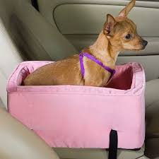 Snoozer Cozy Cave Pet Bed by Shop Snoozer 19 In Pink Fabric Dog Car Seat Booster At Lowes Com