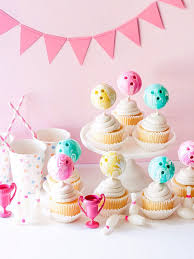 Bowling Ball Cupcake Toppers