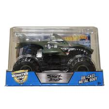 Hot Wheels Monster Jam 1:24 Scale: Shark Shock – ToyShnip Hot Wheels Monster Jam Mutants Thekidzone Mighty Minis 2 Pack Assortment 600 Pirate Takedown Samko And Miko Toy Warehouse Radical Rescue Epic Adds 1015 2018 Case K Ebay Assorted The Backdraft Diecast Car 919 Zolos Room Giant Fun Rise Of The Trucks Grave Digger Twin Amazoncom Mutt Dalmatian Buy Truck 164 Crushstation Flw87 Review Dan Harga N E A Police Re