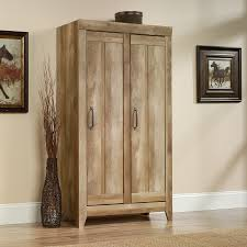 Sauder Harbor View 4 Dresser Salt Oak by Sauder 418141 Adept Storage Craftsman Oak Wide Storage Cabinet