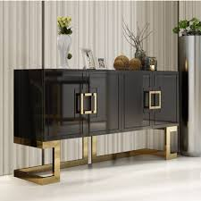 Dining Room Furniture Buffet With Modern Simple Storage