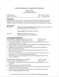 Student Sample Resume For Veterinary Nurse Technician Simple Template Vet Rhstepstogetyourexbackcom Lifestylerhbracukus